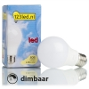 123led E27 led-lamp peer mat dimbaar 9.5W (60W)