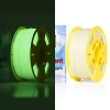 123inkt Filament glow in the dark groen 1,75 mm PLA 1 kg Jupiter serie (123-3D huismerk)  DFP11026