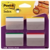 3M Post-it gebogen indextabs strong voor hangmappen (24 tabs) 686A-1 201370