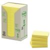 3M Post-it gerecyclede notes toren geel 38 x 51 mm (24 pack) 653-1T 201384