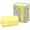 3M Post-it gerecyclede notes toren geel 76 x 127 mm (16 pack) 655-1T 201396