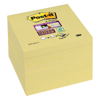 3M Post-it super sticky Z-notes geel 76 x 76 mm S330Y 201024