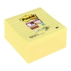 3M Post-it super sticky Z-notes gelijnd geel 101 x 101 mm (5 pack) S440-Y 201492