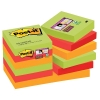 3M Post-it super sticky notes Marrakesh 47,6 x 47,6 mm (12 pack)