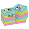 3M Post-it super sticky notes Miami 47,6 x 47,6 mm (12 pack)