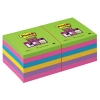 3M Post-it super sticky notes assorti 76 x 76 mm (12 pack)