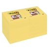 3M Post-it super sticky notes geel 47,6 x 47,6 mm (12 pack)