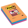 3M Post-it super sticky notes gelijnd Bangkok 101 x 152 mm (3 pack) 4690SEG 201060