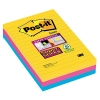 3M Post-it super sticky notes gelijnd Rio 101 x 152 mm (3 pack) 4690SRO 201064