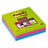 3M Post-it super sticky notes gelijnd kleuren 100 x 100 mm 675-3S 201469
