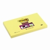 3M Post-it super sticky notes narcisgeel 76 x 127 mm 655-S 201374