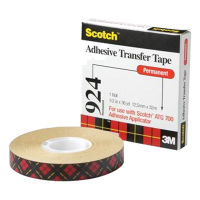 3M Scotch 924 dubbelzijdige tranfser tape 12 mm x 33 m 9241233 201248