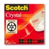 3M Scotch Crystal Clear tape 19 mm x 33 m