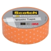 3M Scotch orange swiss dots washi tape (15 mm x 10 m) C314P39 201470
