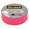 3M Scotch roze washi tape (15 mm x 10 m) C314PNK 201479