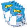 Aanbieding: labels extra wit 3 per vel: 5 sets + 1 GRATIS (450 labels)  060180