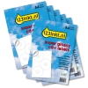 Aanbieding Super Glossy Labels 3 per vel: 5 sets + 1 GRATIS (180 labels)  060200