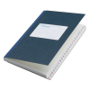 Atlanta notitieboek blauw met A-Z index 165 x 105 mm 192 vel gelinieerd 2182204600 203036