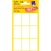 Avery zweckform 3045 multifunctionele etiketten 38 x 24 mm wit (63 etiketten)