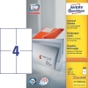 Avery zweckform 3483 universele etiketten 105 x 148 mm wit (400 etiketten)