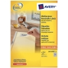 Avery zweckform L4731-25 multifunctionele etiketten 25,4 x 10 mm wit (4.725 etiketten)