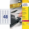 Avery zweckform L6113-20 anti-fraude etiketten 45,7 x 21,2 mm (960 etiketten)