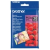 Brother BP61GLP premium plus glossy photo paper 190 grams 10 x 15 cm (20 vel)