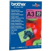 Brother BP71GA3 premium plus glossy fotopapier A3 260 grams (20 vel) BP71GA3 063500