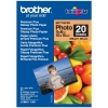 Brother BP71GP20 premium plus glossy photo paper 260 grams 10 x 15 cm (20 vel)