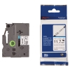 Brother HSe-231 krimpkous tape zwart op wit 12 mm (origineel) HSE231 088886