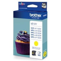 Brother LC-123Y inktcartridge geel (origineel) LC-123Y 029096