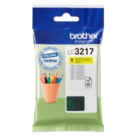 Brother LC-3217Y inktcartridge geel (origineel) LC3217Y 028906