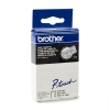 Brother TC-103 'extreme' tape blauw op transparant 12 mm (origineel)