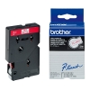 Brother TC-202 'extreme' tape rood op wit 12 mm (origineel) TC202 080506