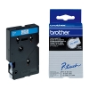 Brother TC-203 tape blauw op wit 12 mm (origineel)