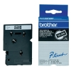 Brother TC-395 'extreme' tape wit op zwart 9 mm (origineel)