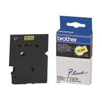 Brother TC-691 tape zwart op geel 9 mm (origineel) TC-691 088858