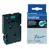 Brother TC-791 tape zwart op groen 9 mm (origineel) TC-791 088862
