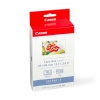 Canon KC-18IF inktcartridge + credit card formaat stickers (origineel)