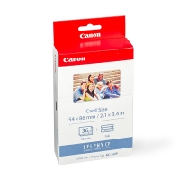 Canon KC-36IP inktcartridge + credit card formaat papier (origineel) 7739A001AB 018010