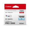 Canon PFI-1000PC inktcartridge foto cyaan (origineel) 0550C001 010134