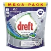 Dreft all-in-one Platinum Regular vaatwastabletten (90 stuks)