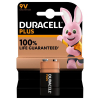 Duracell plus power 9V 6LR61 batterij