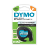 Dymo S0721530 / 12267 plastic tape transparant 12 mm (origineel)