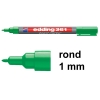 Edding 361 whiteboard marker groen (1 mm rond)