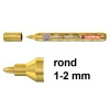 Edding 74 M glanslak-marker goud (1 - 2 mm rond)
