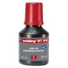Edding BT 30 navulinkt rood (30 ml) 4-BT30002 200935