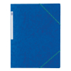 Elba kartonnen Top File elastomap blauw 100200681 237608