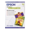 Epson S041106 photo quality zelfklevend inkjet papier 167 grams A4 (10 vel)