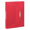 Esselte 6240 Vivida documentenbox transparant rood 47 mm (380 vel) 624048 203220
